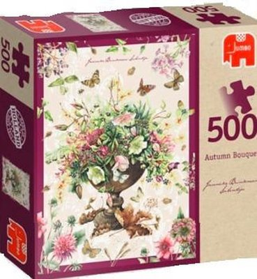 81665 Jumbo Puzzel Janneke Brinkman Hersft Boeket 500 stukjes