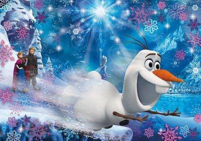 20602 Clementoni 3D Vision Puzzel Disney Frozen 104 Stukjes