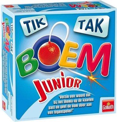 999878 Goliath Tik Tak Boem Junior Kaartspel