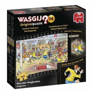 81805 Jumbo Puzzel Wasgij Original 14 Voetbalgekte! 500 stukjes