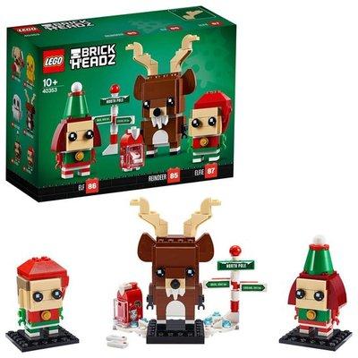 40353 LEGO BrickHeadz Rendier, Elf en Elfie