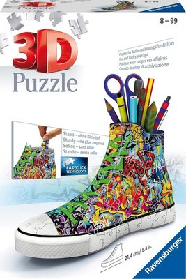125357 Ravensburger Sneaker Grafitti Print 3D puzzel 108 stukjes
