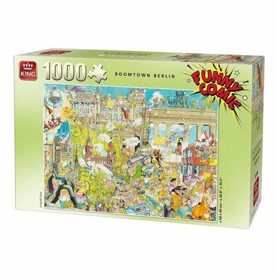 05188 King Puzzel Funny Comic Berlin 1000 Stukjes