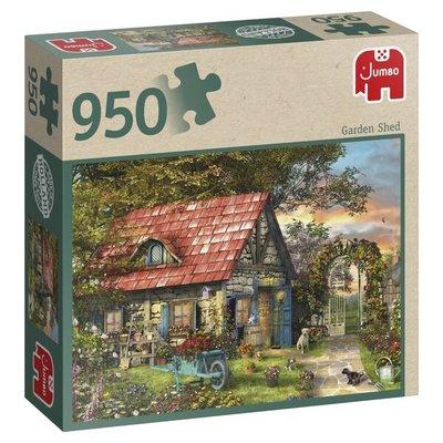 81810 Jumbo Puzzel Garden Shed 950 Stukjes