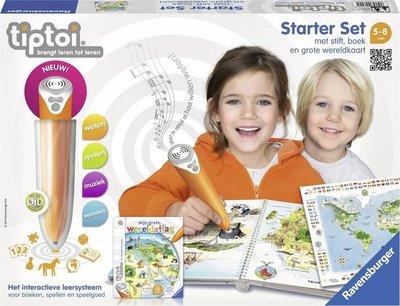007905 Ravensburger Tiptoi® Starter Set Wereldatlas