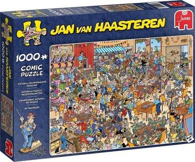 19090 Jumbo Puzzel Jan van Haasteren NK Puzzelen 1000 Stukjes