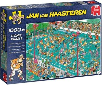 19094  Jumbo Puzzel Jan van Haasteren Hockey Kampioenschappen 1000 Stukjes
