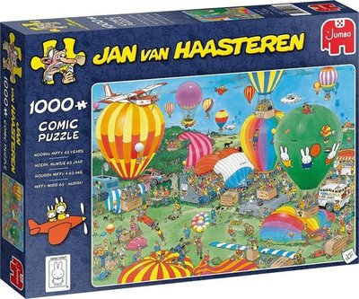 20024 Jumbo Puzzel Jan van Haasteren Hoera! Nijntje 65 Jaar 1000 Stukjes