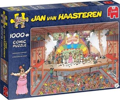 20025 Jumbo Puzzel Jan van Haasteren Eurovisie Songfestival 1000 Stukjes