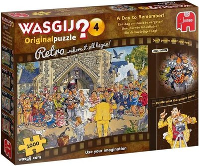 19176 Jumbo Puzzel Wasgij Retro Original 4 1000 stukjes