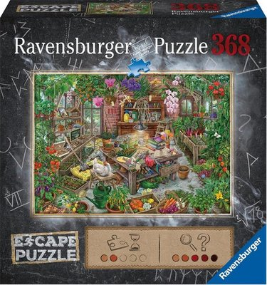 165308 Ravensburger Puzzel Escape The Green House 368 stukjes