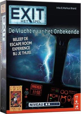 999Games EXIT De vlucht naar het onbekende Breinbreker Escape Room Bordspel