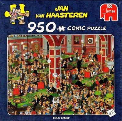81640 Jumbo Puzzel Jan van Haasteren Crazy Casino 950 Stukjes