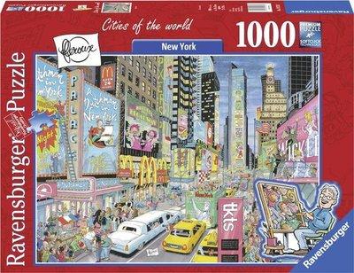 197323 Ravensburger puzzel Fleroux New York 1000 stukjes