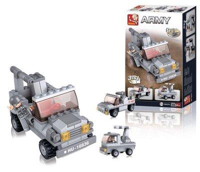 0537C Sluban Army 9 into 1 Raketwerper 3in1