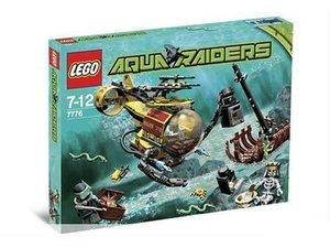 7776 LEGO Aqua Raiders: Het Scheepswrak