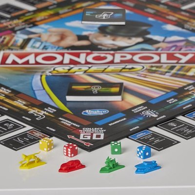 38147 Monopoly Turbo Bordspel