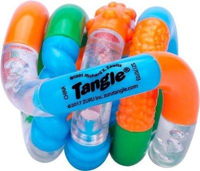 59374 ZURU Tangle Crazy Junior Transparant/Oranje/Groen/Blauw