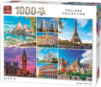 55881 King Puzzel City's 1000 Stukjes
