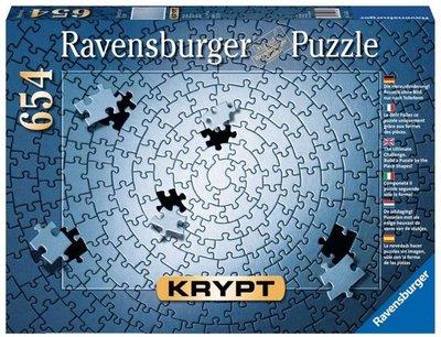 159642 Ravensburger Krypt Puzzel Silver 654 stukjes