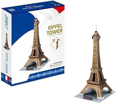 044 Evora 3D Puzzel Eiffeltoren 39 stukjes