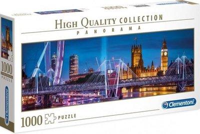 39485 Clementoni Panoramapuzzel London 1000 Stukjes