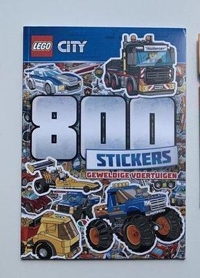 5749 LEGO® CITY doeboek lezen, kleuren en plakken 800 stickers