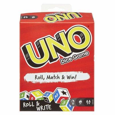 24353 Mattel Uno Roll & Write Dice Game
