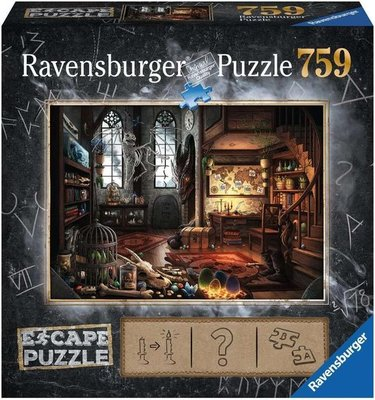 199600 Ravensburger Escape Puzzel 5 Dragon 759 stukjes