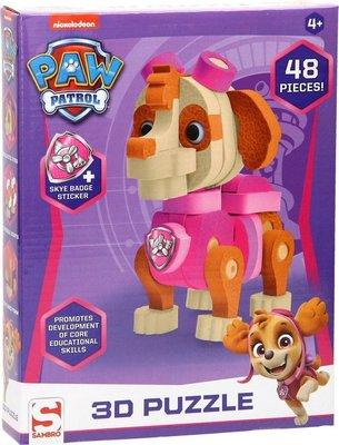 52984 Paw Patrol foampuzzel 3D Skye