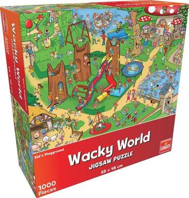 71403 Goliath Puzzel Wacky World Kids Playground 1000 Stukjes