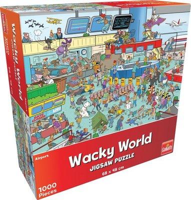 71404 Goliath Puzzel Wacky World Airport 1000 Stukjes