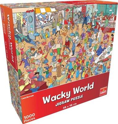 71405 Goliath Wacky World Lunchroom 1000 Stukjes