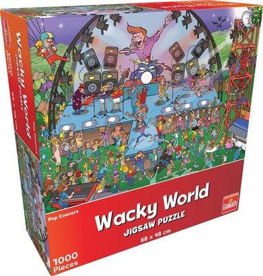 71400 Goliath Puzzel Wacky World Pop Concert 1000 Stukjes