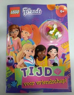 7307 LEGO Friends Boek Tijd voor Vriendschap + blokjes en konijntje