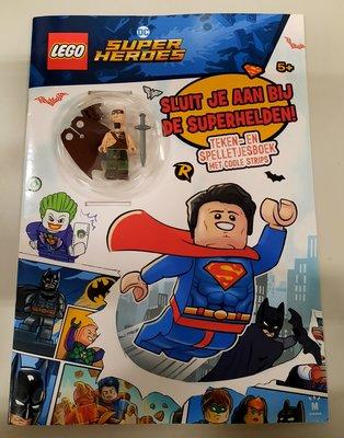 7321 LEGO Super Heroes Boek Sluit je aan bij de Superhelden + Batman poppetje