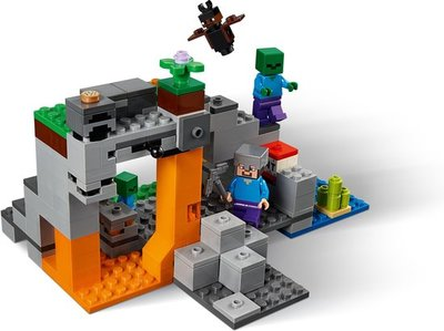 21141 LEGO Minecraft De Zombiegrot