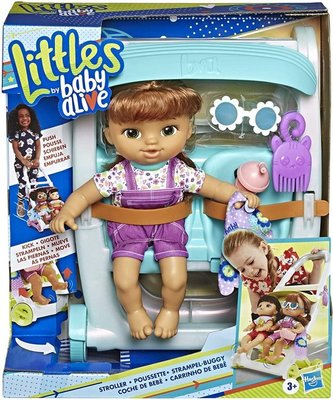 49839 Hasbro Littles By Baby Alive Push And Kick-wandelwagen Little Lucy