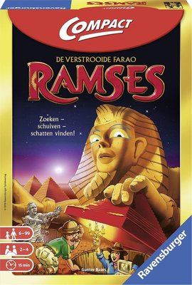 223350 Ravensburger Ramses Compact Pocketspel