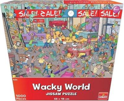 71401 Goliath Puzzel Wacky World Sale 1000 stukjes