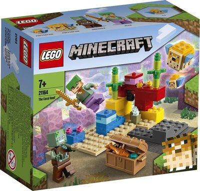 21164 LEGO Minecraft Het Koraalrif