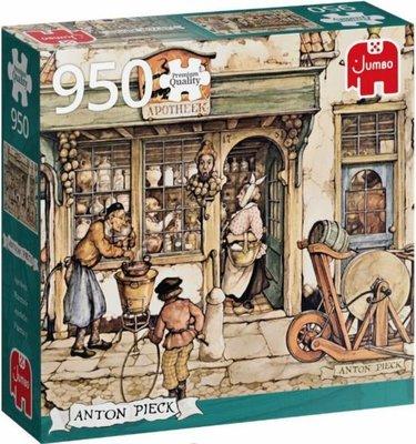 81818 Jumbo Puzzel Anton Pieck De Postkoets 950 Stukjes