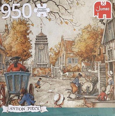 81816 Jumbo Puzzel Anton Pieck Het Dorpsplein 950 Stukjes