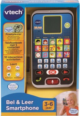 139323 VTech Bel & Leer Smartphone Kindertelefoontje