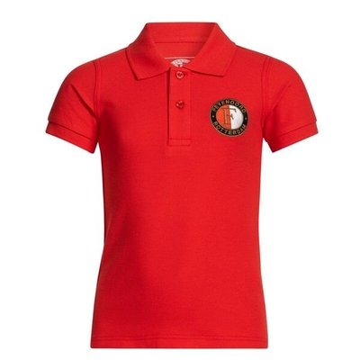37269 Feyenoord Polo Shirt Rood Mt 152-158