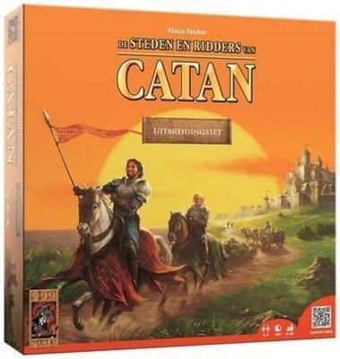 96273 999Games Catan Steden en Ridders Uitbreiding Bordspel