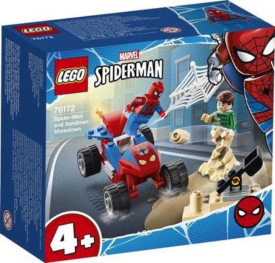 76172 LEGO 4+ Spider-Man en Sandman Duel