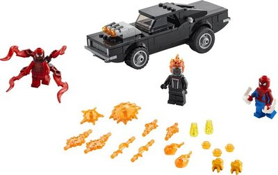 76173 LEGO Spider-Man en Ghostrider vs. Carnage
