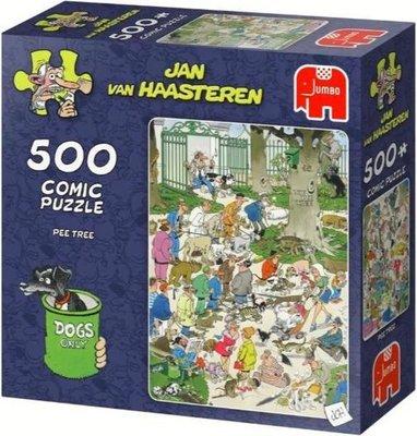 81654 Jan van Haasteren Pee Tree Puzzel 500 stukjes