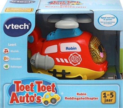 509423 VTech Toet Toet Auto's Robin Reddingshelikopter